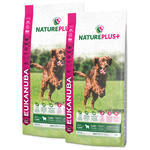 2x EUKANUBA Nature Plus+ Puppy & Junior Rich in freshly frozen Lamb 14kg