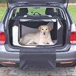 Box transportní TRIXIE Vario černo-šedý  M-L