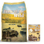 Taste of the Wild High Prairie Canine 13kg + konzerva ZDARMA