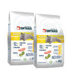 2x Granule ONTARIO Adult Indoor 2kg