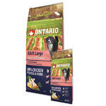 ONTARIO Adult Large Chicken & Potatoes & Herbs 12kg + 2,25kg ZDARMA + doprava ZDARMA