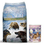 Taste of the Wild Pacific Stream Canine 13kg + konzerva ZDARMA