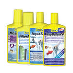 TETRA Aqua Safe 100ml + TETRA Easy Balance 100ml + TETRA Aqua Nitrate Minus 100ml + Tetra Filter Active 100ml