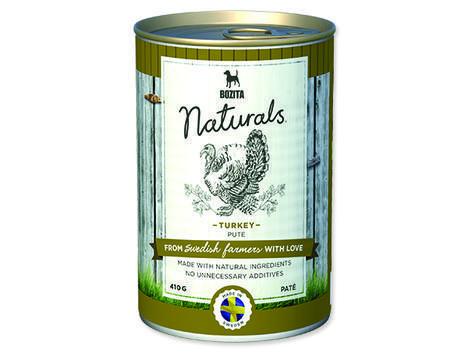 BOZITA Naturals konzerva Turkey 410g