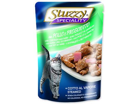 Kapsička STUZZY Cat Speciality kuře + šunka 100g