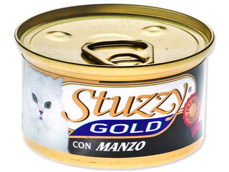 Konzerva STUZZY Cat Gold hovězí 85g