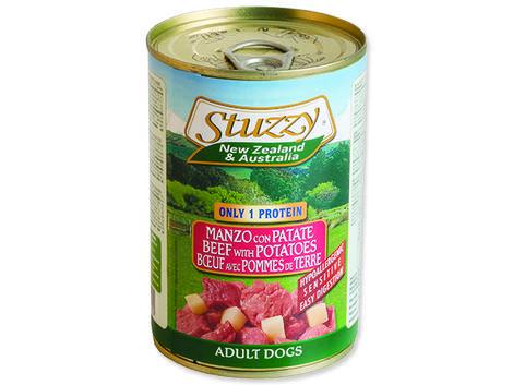 Konzerva STUZZY Dog NZ hovězí + brambory 400g