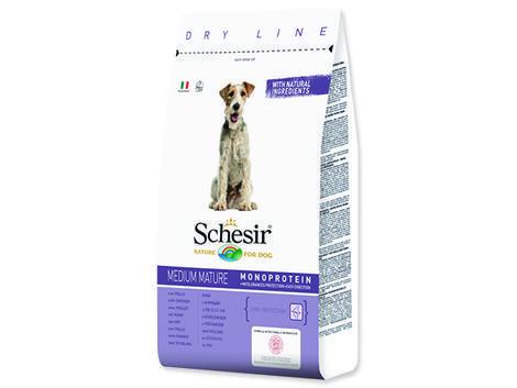 SCHESIR Dog Medium Mature kuřecí 12kg