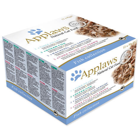 Konzervy APPLAWS Fish Selection Multipack 12 x 70 g 840g