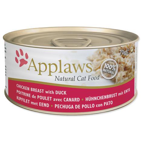 Konzerva APPLAWS Cat Chicken & Duck 70g