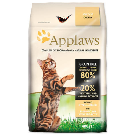 Granule APPLAWS Dry Cat Chicken 400g