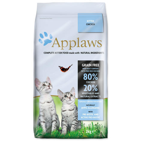 Granule APPLAWS Dry Cat Kitten