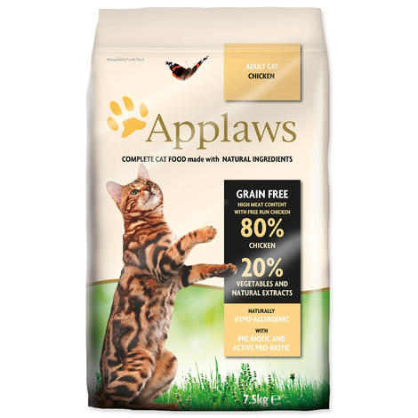 Granule APPLAWS Dry Cat Chicken 7,5kg