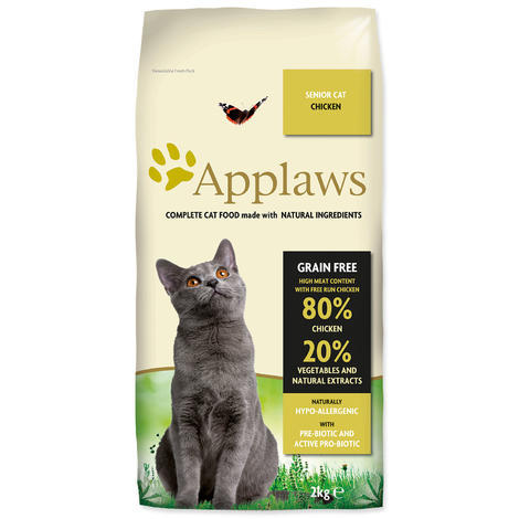 Granule APPLAWS Dry Cat Senior 2kg