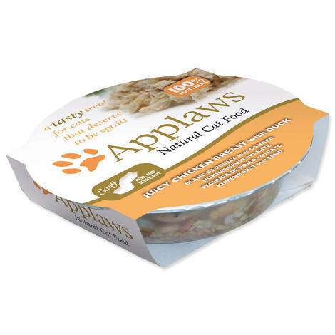 Kalíšek APPLAWS Cat Juicy Chicken Breast with Duck  60 g