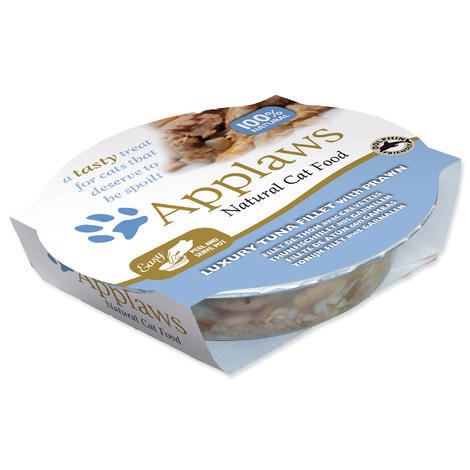 Kalíšek APPLAWS Cat Luxury Tuna Fillet with Prawn  60 g