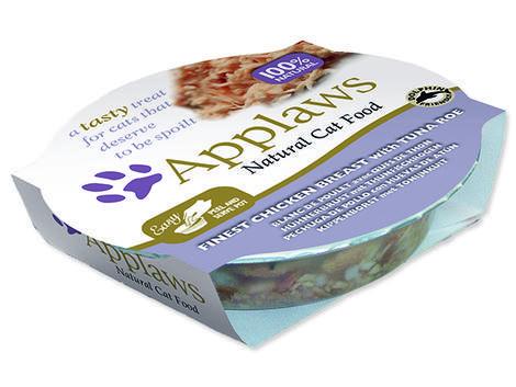 Kalíšek APPLAWS Cat Finest Chicken Breast with Tuna Roe  60 g