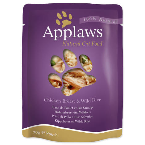 Kapsička APPLAWS Cat Chicken  70 g
