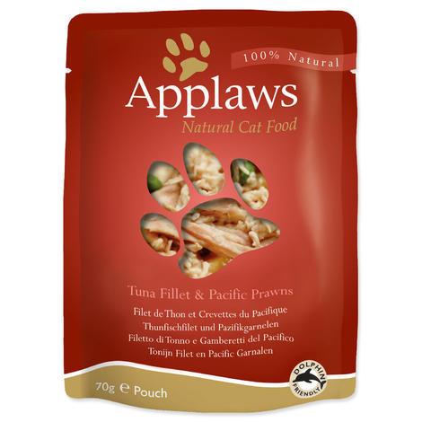 Kapsička APPLAWS Cat Tuna & Pacifc Prawn  70 g