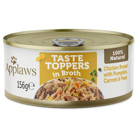 Konzerva APPLAWS Dog Chicken, Veg & Rice  156 g
