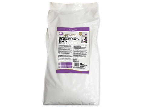 Granule APPLAWS Dry Dog Chicken Large Breed Puppy 15kg