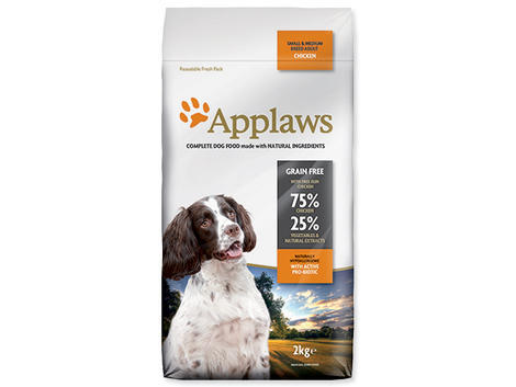 Granule APPLAWS Dry Dog Chicken Small & Medium Breed Adult 2kg