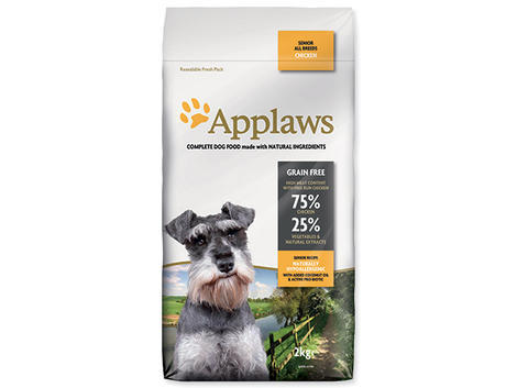 Granule APPLAWS Dry Dog Chicken Senior 2kg