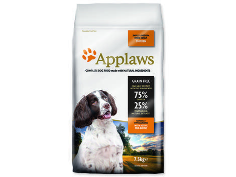 Granule APPLAWS Dry Dog Chicken Small & Medium Breed Adult