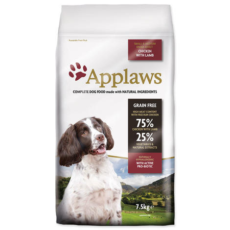 Granule APPLAWS Dry Dog Lamb Small & Medium Breed Adult