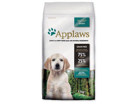 Granule APPLAWS Dry Dog Chicken Small & Medium Breed Puppy