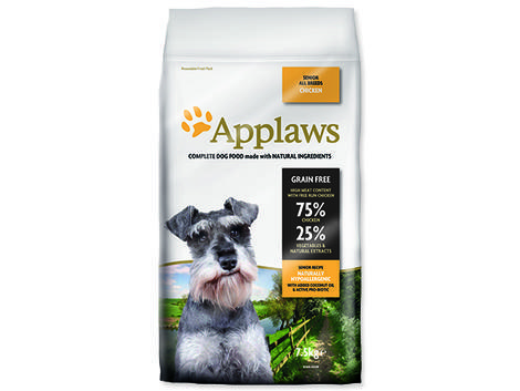 Granule APPLAWS Dry Dog Chicken Senior 7,5kg