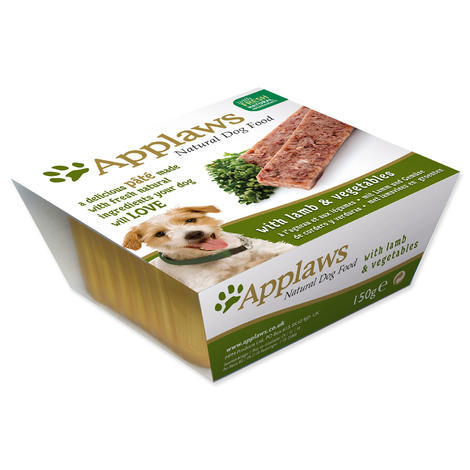 Paštika APPLAWS Dog Pate with Lamb & vegetables  150 g