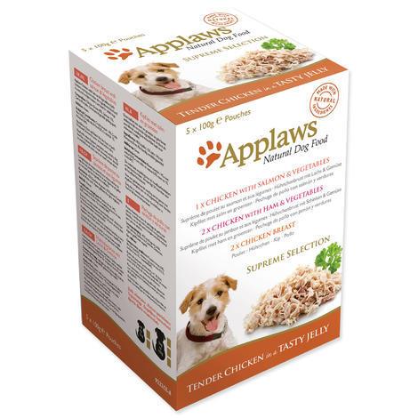 Kapsička APPLAWS Dog Jelly Pouch Supreme Selection MP 5 x 100 g