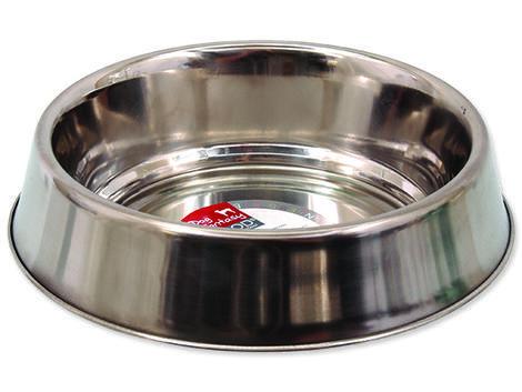 Miska DOG FANTASY nerezová s gumovým spodkem 19 cm 0,74l