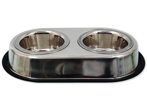 Dvojmiska DOG FANTASY nerezová 2 x 13 cm 0,76l