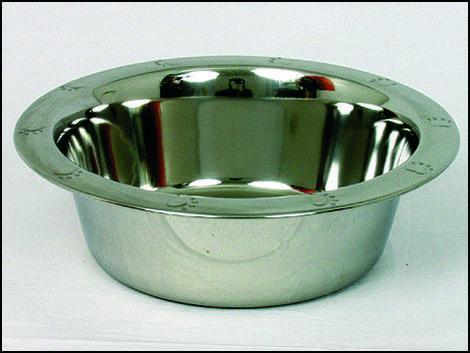 Miska DOG FANTASY nerezová tepaná 19 cm 1,75l