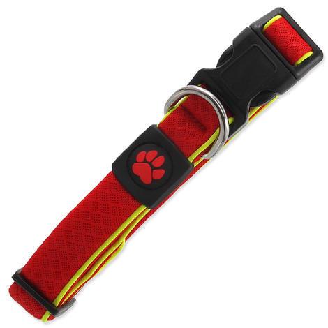 Obojek ACTIV DOG Fluffy Reflective červený