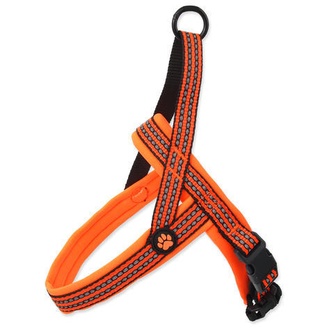Postroj ACTIVE DOG Neoprene oranžový