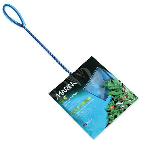 Síťka MARINA akvarijní modrá jemná 12,5 cm