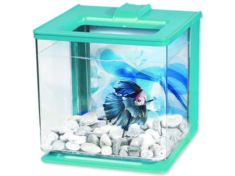 Akvárium MARINA Betta EZ Care Kit modré  2,5l