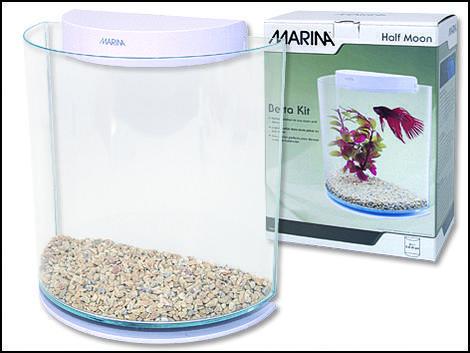 Akvárium MARINA Betta Kit HalfMoon !! POUZE OSOBNÍ ODBĚR !! 3l