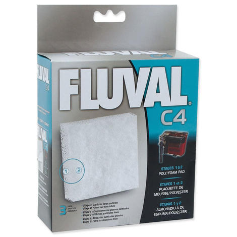 Náplň molitan polyester FLUVAL C4 3ks