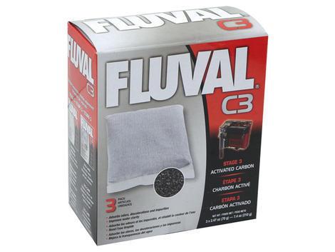 Náplň sáčky aktivní uhlí FLUVAL C3 3ks