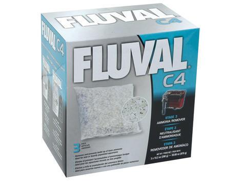 Náplň sáčky pro odstranění amoniaku FLUVAL C4 3ks