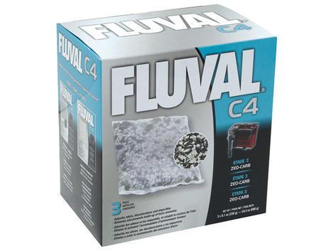 Náplň sáčky Zeo-Carb FLUVAL C4 3ks