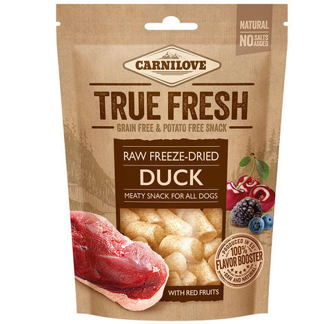Carnilove Raw freeze-dried Duck with red fruits 40g - 1