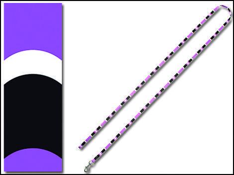 Vodítko DOG IT Cobra fialovo - černé  S