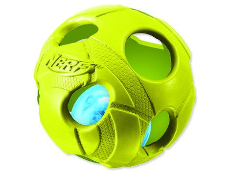 Hračka NERF gumový míček LED 8 cm 1ks