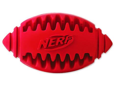 Hračka NERF gumový rugby míč dentální 8 cm 1ks