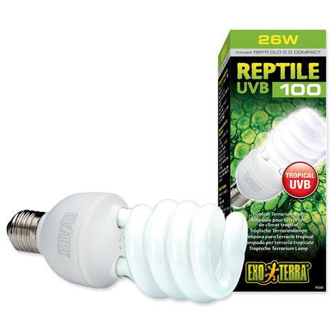Žárovka EXO TERRA Reptile UVB100 26W